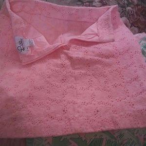 Lilly Pulitzer Skirts - Sale! BOGO 50% Vintage Lilly Pulitzer Eyelet Skirt